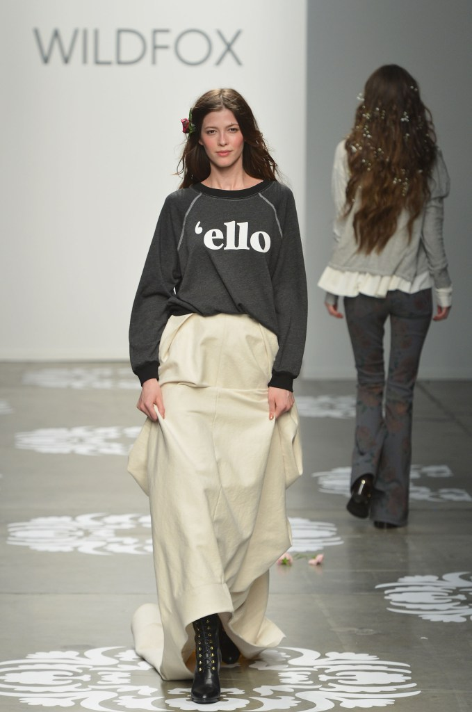 Wildfox - Runway - Mercedes-Benz Fashion Week Fall 2014