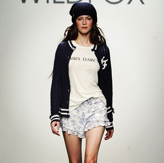 Wildfox Winter 2014 Runway Show at Pier 59