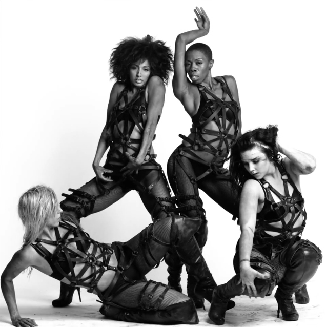 lady gaga dancers in zana bayne
