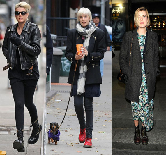 street snapper doc martens are still super hot for winter