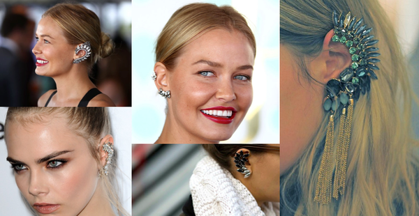 its all about ear cuffs trend 2014