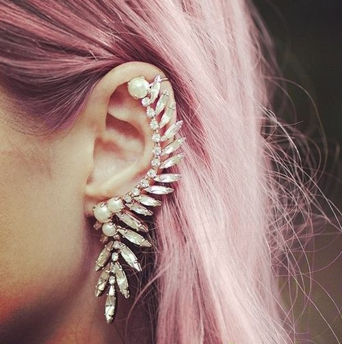 tumblr ear cuff trend nyc