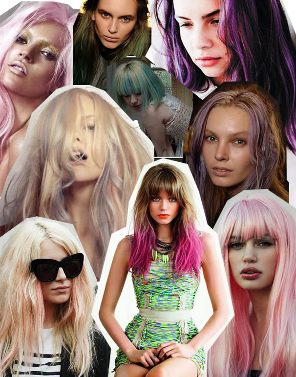pastel pink purple hair streetstyle nyc popular hair fashion pastelhair