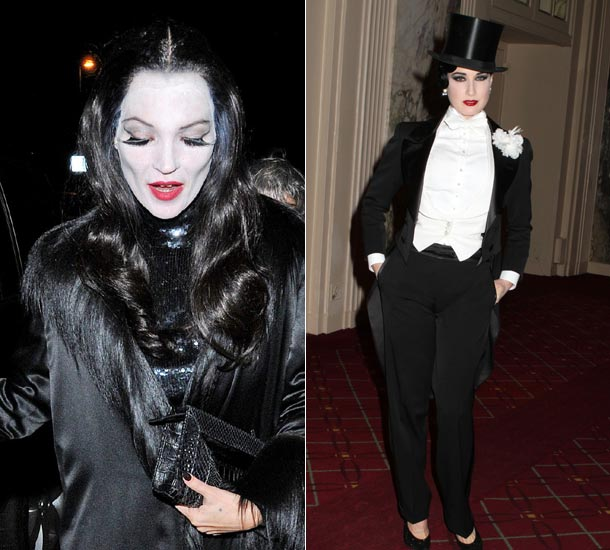 vogue halloween couture look for fashionista nolita hearts kate moss gwen stefani