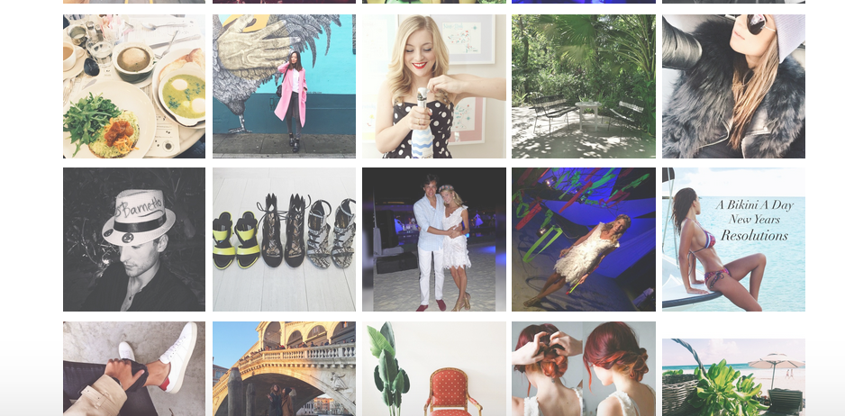 the top twenty fashion bloggers everytime they post we post