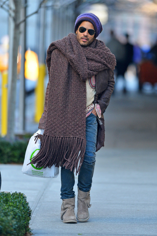 nyc street style scarf fashion accessory