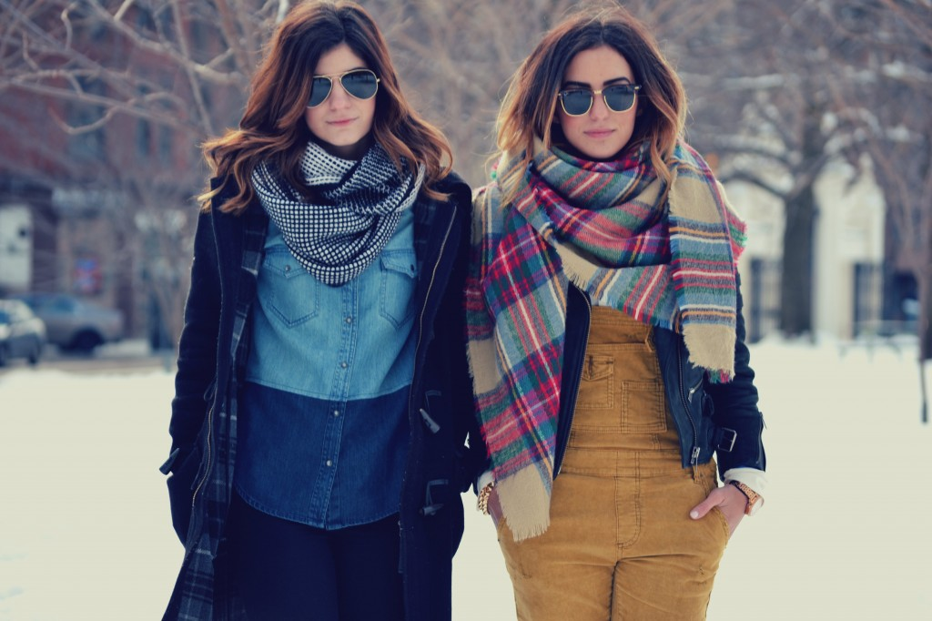 sams blog blanket scarf trend scarf accessory nyc street style trend hot right now