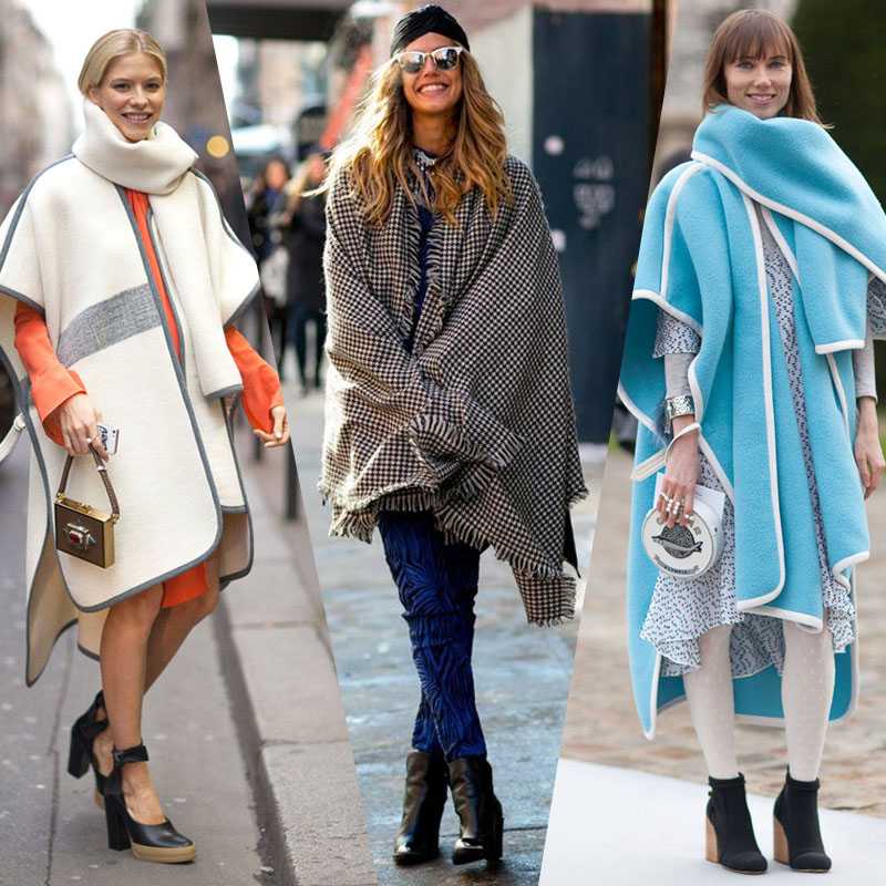 scarf blanket street style trend scarf accessory nyc street style trend hot right now