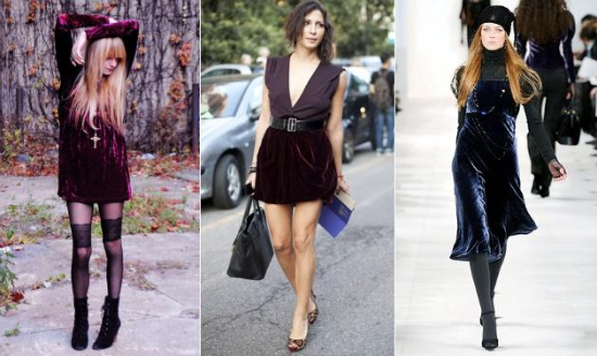 velvet is super hot right now winter style trend fashion bloggers wearing velvet streetstyle nyc nolita
