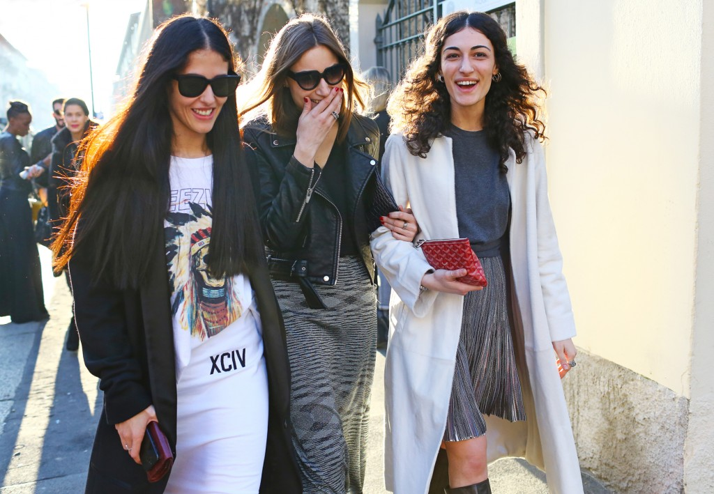 white winter color street style trend fashion bloggers nyc