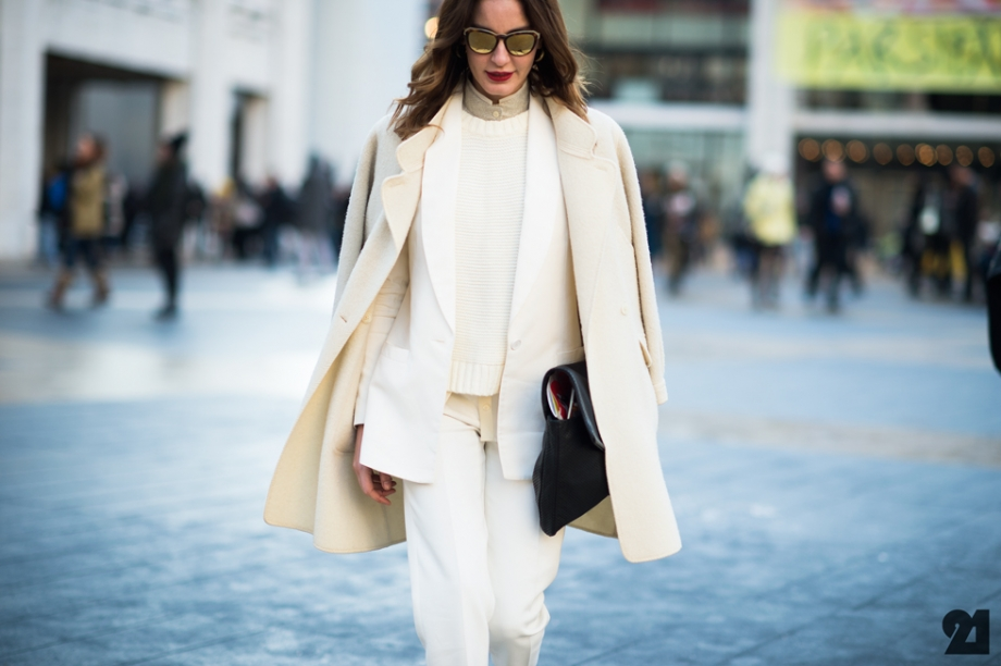 white winter street style trend fashion blogger outfit nyc