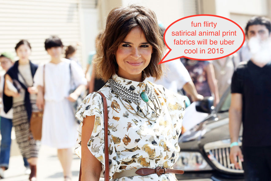 miroslava duma street style chunly statement bejeweled dazzling necklace