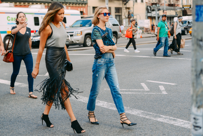 2015 spring street style trend fringing street style nyc hot fashion trend