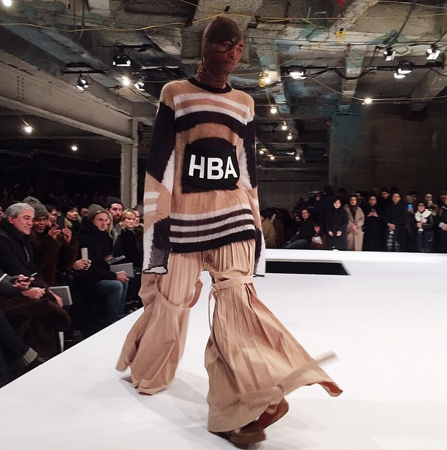 hood by air opening ceremony nyfw show february 2015