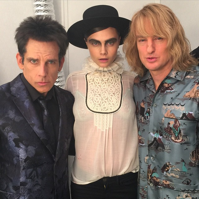 I'm pretty sure there's a lot more to life than being really really ridiculously good looking… And I plan on finding out what that is #ZOOLANDER2 #BLUESTEEL #DEREK #HANSEL by caradelevingne