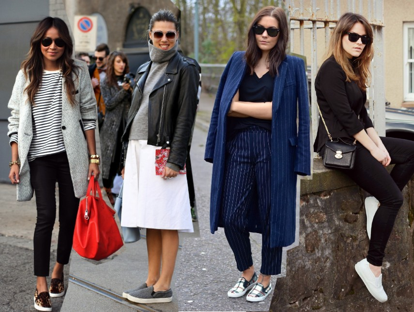 black sneakers white sole are the new sneaker street style trend the sneaker street style strut