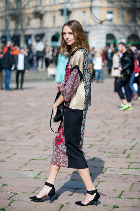 Milan_Fashion_Week_colorful milan fashion week street style fashion blogger Anna Dello Russo