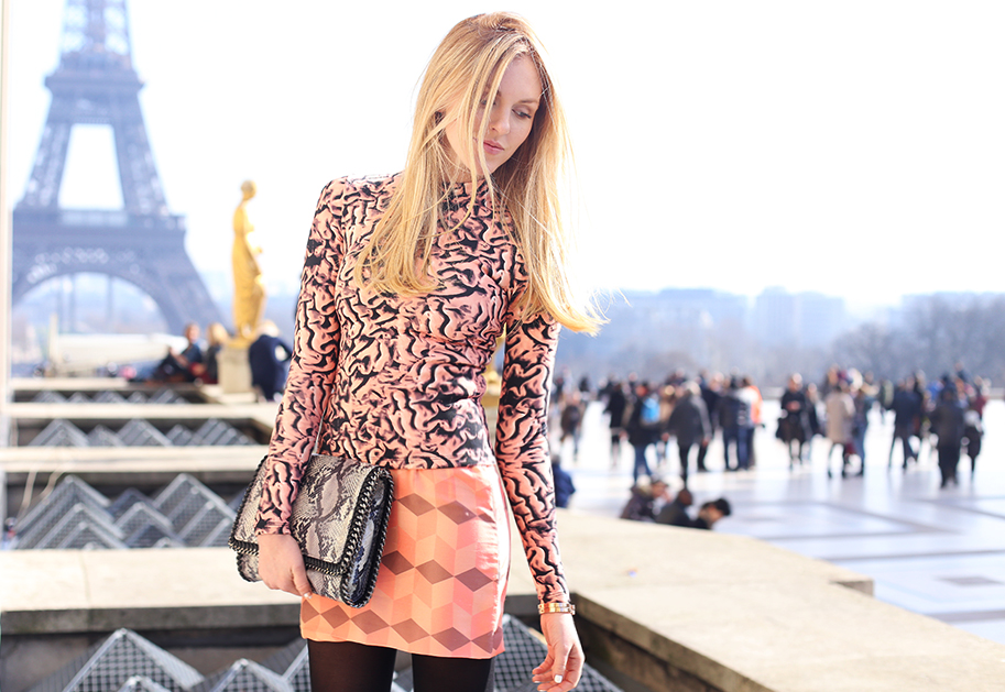 peaceloveshea in rodarte the blonde salad dashing between fashion shoes in paris march 2015