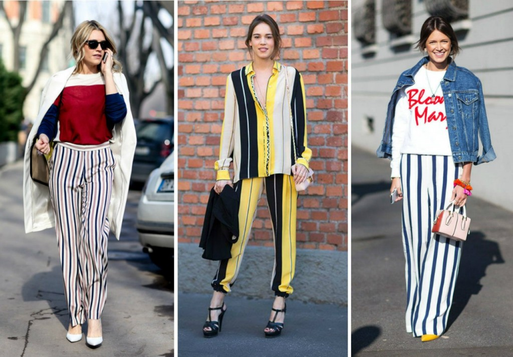 Stripes are in for spring black and white striped street style nyc
