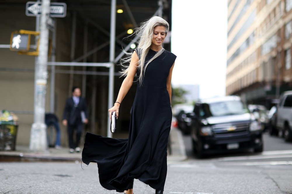 new-york-fashion-week-spring-2015-street-style-nyfw-spring-2015-models-street-style-black black all black spring street style nyc 2
