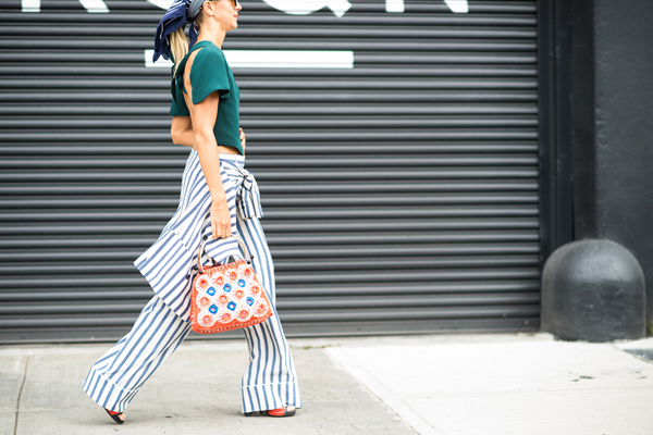 street style stripes are in for spring 20 new ways to wear stripes