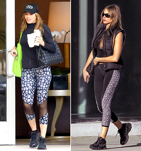 celebrity fashion gym wear work out gear